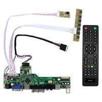 "TV HDMI VGA AV USB LCD Controller Board For 17.3"" N173HCE-E31 1920x1080 IPS LCD"