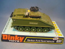 DINKY TOYS ANGLAIS -STRIKER ANTI TANK VEHICLE REF 691