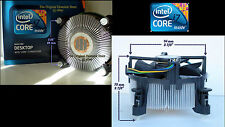 Core i7-9XX Cooling Fan Heatsink for Intel i7 Socket 1366 Series Processor New