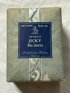 RARE NEW SEALED Guerlain Paris JICKY Extract de Perfume 2/3 Fl Oz 20mL NIB Box