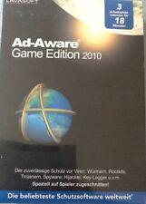 PC DVD-ROM Ad-Aware Game Edition 2010 (Lavasoft) 3 Arbeitsplatzlizenzen Neu!!!