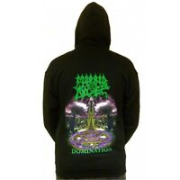 "Morbid Angel ""Domination"" Zip Hoodie - NEW OFFICIAL hooded sweatshirt"