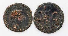 AS Tiberio 17-37 dc - A/ TI CAESAR DIVI AUG F AUGUST IMP VII - R/ PONTIFMAXIM T