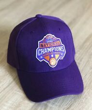 99573066 CLEMSON CHAMPIONS Cap Hat Patch Style Official 2018 NATIONAL CHAMPIONSHIP  NCAA P