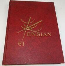 Ensian Year Book Ann Arbor 1961 Univeristy Michigan Wolverines UM