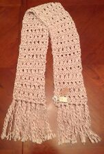 NWT American Eagle Outfitters Pink Red Gray Hand knit SCARF WRAP 6587 - NWT