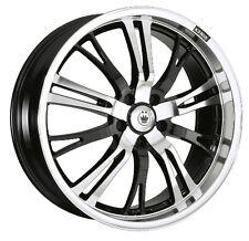 17X7 KONIG UNKNOWN 10X110/114.3mm +40 BLACK Wheels Fits Tc Xb  Mazda Speed 3