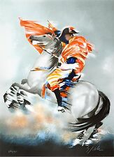 Victor Spahn - Bonaparte (lithograph, hand-signed & numbered, edition of 300)