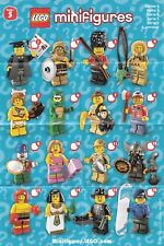 LEGO MINIFIGURE SERIES 5 CHECKLIST