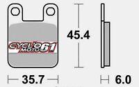 Plaquettes de frein avant Peugeot Elystar 50 2002 à 2013 (S1066)