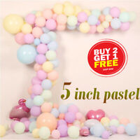 "5"" Pastel Pearl Balloons 6 colour latex Latex Party Celebration Birthday"