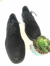 TO BOOT NEW YORK Black Suede Oxford Shoes Vibram Soles Made In Italy Men's 13
