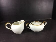BEAUTIFUL VINTAGE H & CO. HEINRICH SELB BAVARIA GERMANY CREAM & SUGAR SET