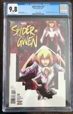 Spider-Gwen #34 (2018) CGC 9.8 Edge Of Spider-Verse #2 Homage Cover