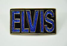 * Rock`n Roll Rockabilly Gürtelschnalle Belt Buckle *411 blau