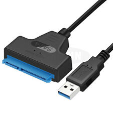 "USB 3.0 to 2.5"" SSD SATA III Hard Drive Adapter Cable UASP SATA HDD to USB 3.0"