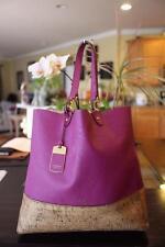 Lauren by Ralph Lauren Women's Purple Bembridge Cork Tote (pu4000