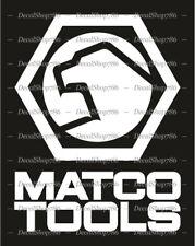MATCO Tools - Cars/SUV/Truck/Toolbox Vinyl Die-Cut Peel N' Stick Decal/Sticker