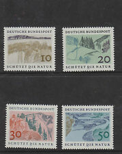 WEST GERMANY MNH STAMP DEUTSCHE BUNDESPOST 1969 NATURE PROTECTION   SG 1489-1492