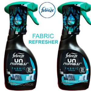 2 x  Febreze Un Stoppables Fabric Refresher Spray Fabreeze
