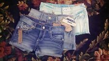 3 PAIR AMETHYST SHORTS BLUE FADED MINT SQUEEZE DISTRESSED SIZE 5 NWT