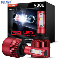 9006 HB4 Cree LED Headlight Conversion Bulbs 1080W 6000K 162000LM Light Lamps