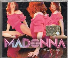 MADONNA CD SINGLE 3 tracce HUNG UP 2005 made in GERMANY + REMIX nuovo SIGILLATO