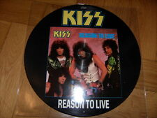 !!! KISS - REASON TO LIVE - PICTURE LP / VINYL - Phonogram Limited Edition  !!!