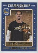 2017-18 Panini NBA Hoops Championship Moments /99 Shaun Livingston #11