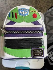 Loungefly X Disney Toy Story Buzz Lightyear Mini Backpack NEW Bag Pixar