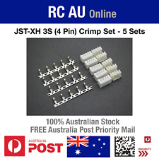 JST-XH 3S (4 Pin) Connector Crimp Set - 5 Sets - Aust Post Priority Shipping