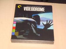 Criterion Collection New Videodrome Blu Ray Movie David Cronenberg