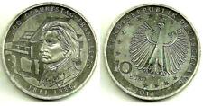 ALEMANIA. 2011(G. 10 EURO. SILVER. PLATA