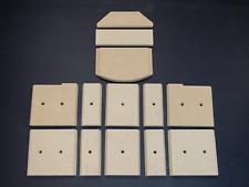 Feuerraumauskleidung für Fireplace Alicante Vermiculite Platten Kamin Brennraum