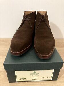 Crockett & Jones Tetbury UK8 Brown Suede