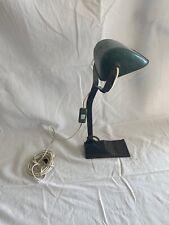 ancienne Et Grande lampe de bureau style notaire ou banquier Hauteur 52 Cm