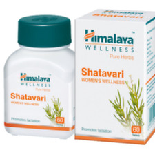 2 x 60 Himalaya Shatavari tablets  Women's Health Supplement Free shipping
