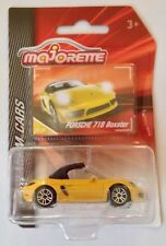 Majorette Premium Cars Porsche 718 Boxster - die cast toy car model