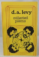 COLLECTED POEMS, D.A. Levy - 1976 Druid Books Illustrated Modern Ginsberg Beat