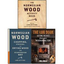 Norwegian Wood Book Collection Lars Mytting Wood burning Stove 3 Books Set NEW