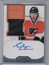 2011-12 Dominion SEAN COUTURIER  Rookie Patch/Auto! /99! FLYERS