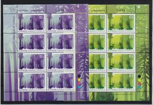 CYPRUS 2011 EUROPA CEPT MNH SET STAMPS IN SHEETS OF 8 SETS