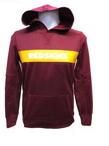 Washington Redskins Youth Boys Nike Sideline Pullover Hoody Sweatshirt - Maroon
