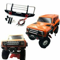 KYX 1/10 RC Crawler Car Metal Front Bumper Set For Redcat Racing GEN8 Scout II