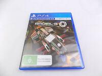 Mint Disc Playstation 4 Ps4 Radial-G Racing Revolved VR PSVR Free Postage