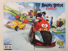 ANGRY BIRDS Comic # 1 FIRST ISSUE ~ RACE CAR Variant Cover ~1st Printing RARE