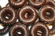 DARK CHOCOLATE COVERED JELLY RINGS, 2LBS