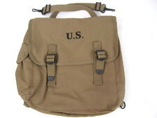 WWII Era US Army M1936 Canvas Musette Bag US Marked &  Dated 1940's - Repro