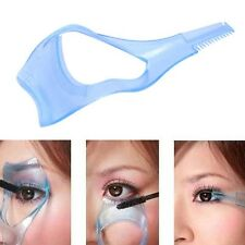 Guide cosmétique Mascara 3in1 cils peigne applicateur Helper carte outil