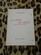 LA PAR DU REVE - Catherine DODIER - Debresse 1956